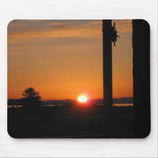 Good Morning Ocean Shores Mouse Pad