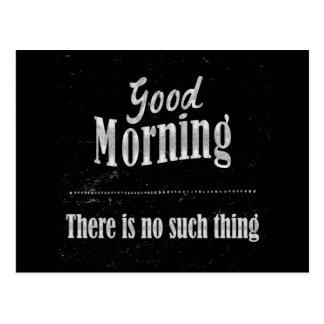 Good Morning Post Card