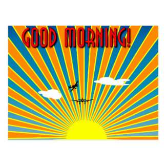 Good Morning! Postcard