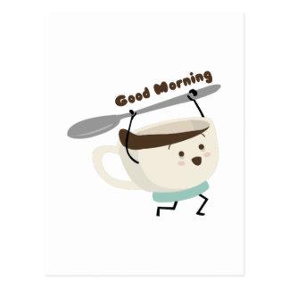Good Morning Postcard