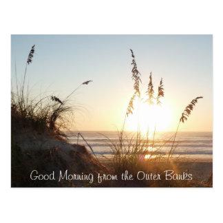 Good Morning Postcard - Outer Banks, NC