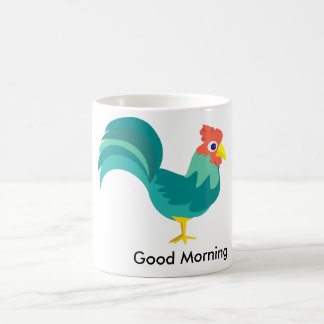 Good Morning Rooster Cup