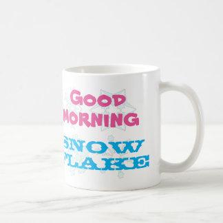 Good Morning Snowflake Coffee Mug