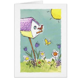 Good Morning Song Greeting Card