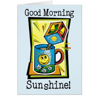 Good Morning Sunshine! Card