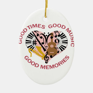 Good Music Christmas Ornament