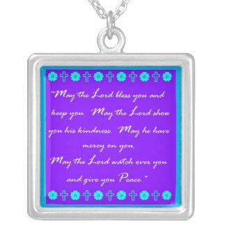 Good News Square Pendant Necklace