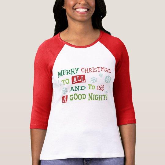 Good Night Before Christmas T-Shirt