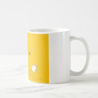 good night bright yellow flower coffee mug