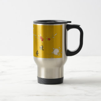 good night bright yellow flower coffee mugs