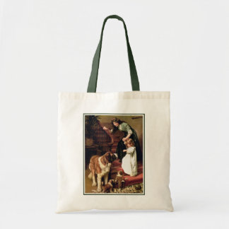 Good Night - with St. Bernard Tote Bag