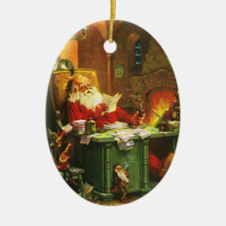 Good Old Santa Claus Christmas Ornament