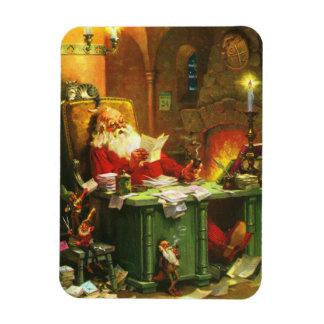 Good Old Santa Claus Rectangular Photo Magnet
