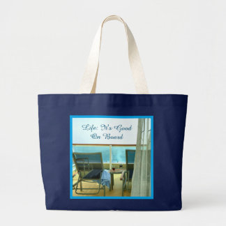 Good On Board Custom Large Tote Bag