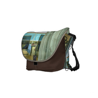 Good On Board Small Brown Courier Bags