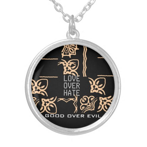 Good Over Evil - Love over Hate Necklace.