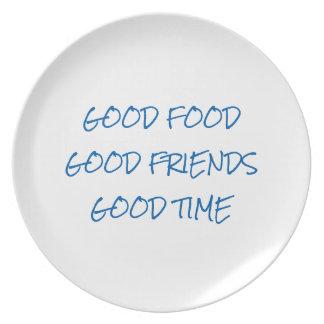 Good Party Melamine Plate