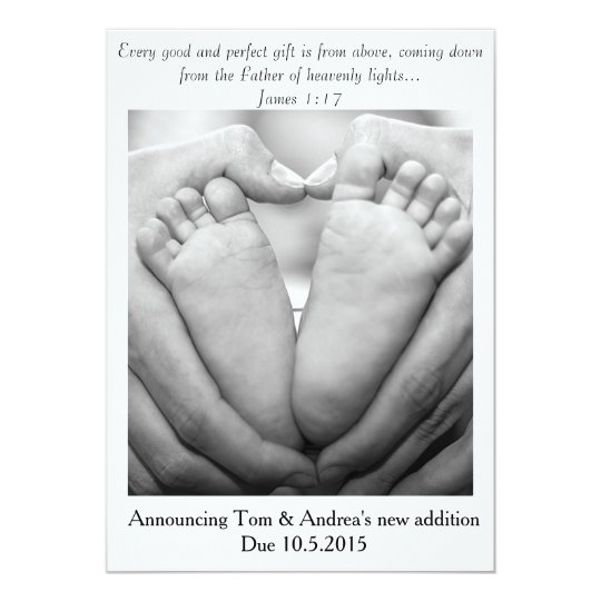 Good & Perfect Gift ~ Pregnancy Announcement