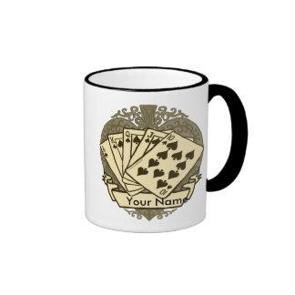 Good Poker Hand Ringer Mug