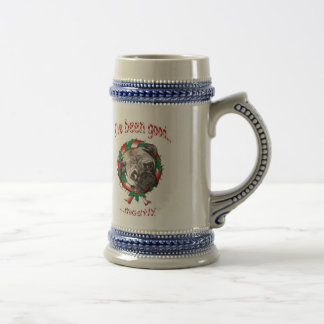 Good Pug...Mostly! Beer Stein