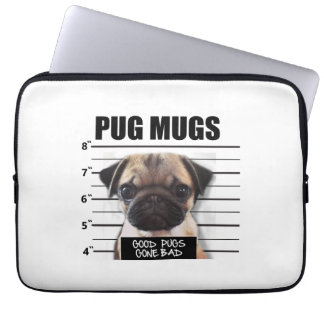 good pugs gone bad laptop sleeve