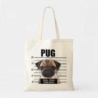 good pugs gone bad tote bag
