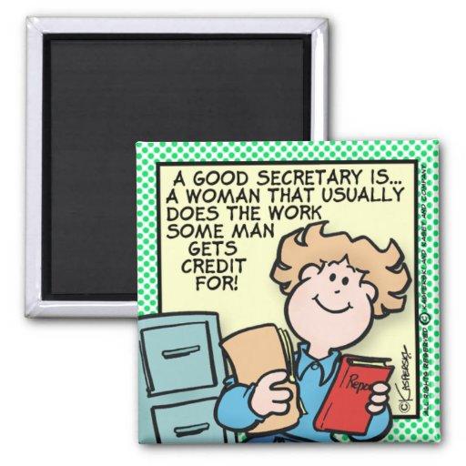 Good Secretary Magnets