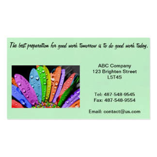 Good Service Business Pack Of Standard Business Cards