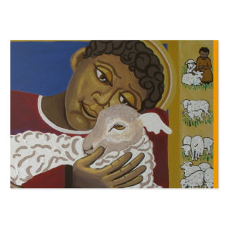 Good shepherd parable pack of chubby business cards