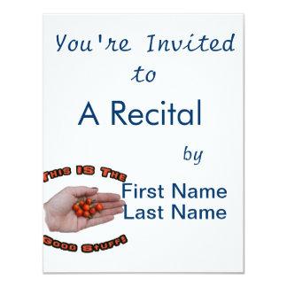 Good Stuff Cascabel Hot Pepper Design Image 11 Cm X 14 Cm Invitation Card
