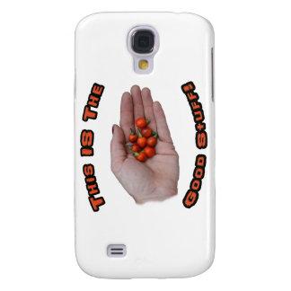 Good Stuff Cascabel Hot Pepper Design Image Galaxy S4 Case