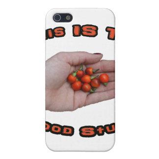 Good Stuff Cascabel Hot Pepper Design Image iPhone 5 Covers