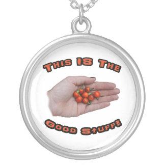 Good Stuff Cascabel Hot Pepper Design Image Pendant