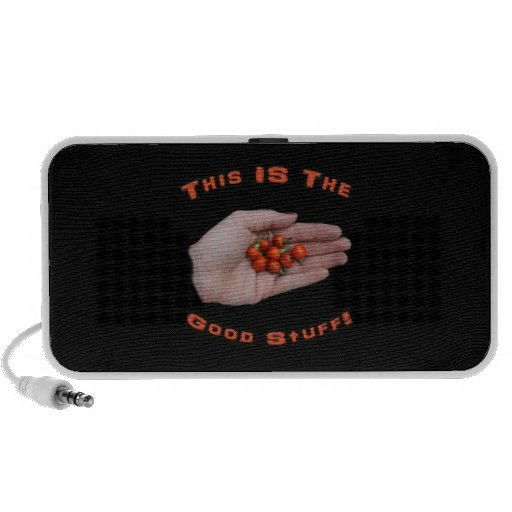 Good Stuff Cascabel Hot Pepper Design Image iPod Speakers
