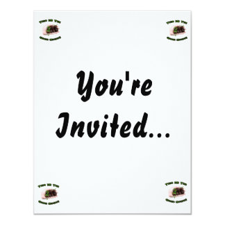 Good Stuff Chocolate Habanero Hot Pepper Design 11 Cm X 14 Cm Invitation Card