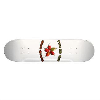 Good Stuff Five Habanero Hot Pepper Design Skate Board Deck