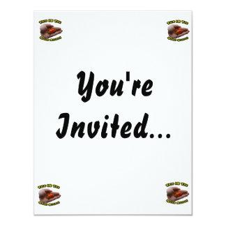 Good Stuff Habanero in Hand Hot Pepper Design 11 Cm X 14 Cm Invitation Card