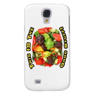 Good Stuff Hot Pepper Pile Design Image Galaxy S4 Case