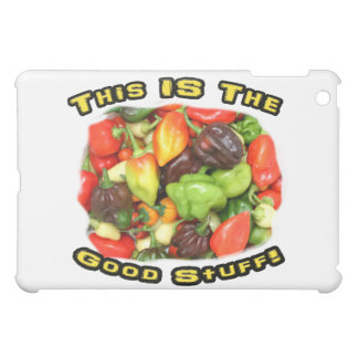 Good Stuff Hot Pepper Pile Design Image Cover For The iPad Mini