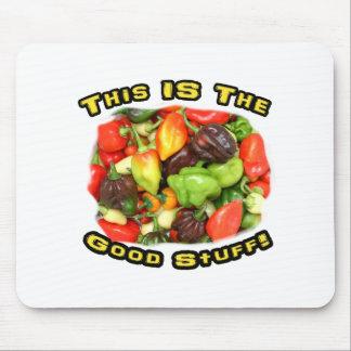 Good Stuff Hot Pepper Pile Design Image Mousepads