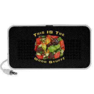 Good Stuff Hot Pepper Pile Design Image Speaker System