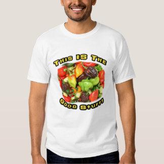 Good Stuff Hot Pepper Pile Design Image T Shirts