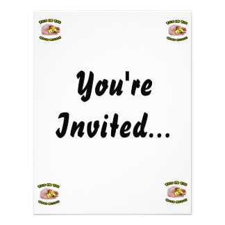 Good Stuff White Hot Peppers in Hand Design Invite