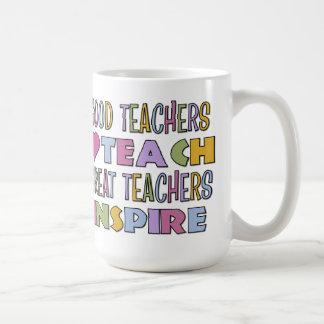 Good Teachers Teach Mug