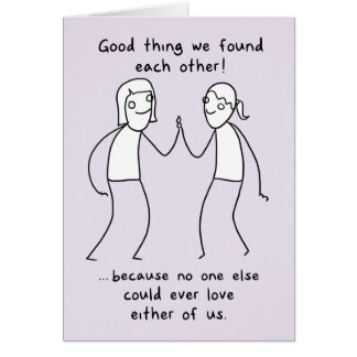 """""""Good thing we found each other!"""" (FF) Valentine Card"""