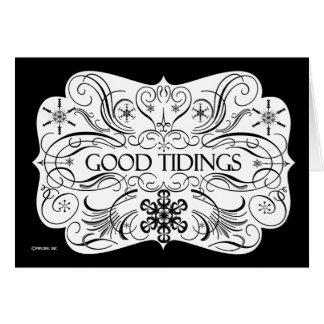 Good Tidings Greeting Card