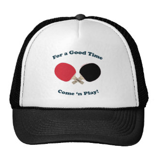 Good Time Ping Pong Hats