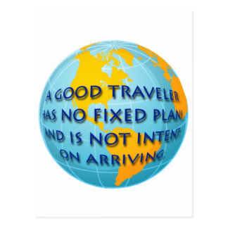 Good Traveler Postcard