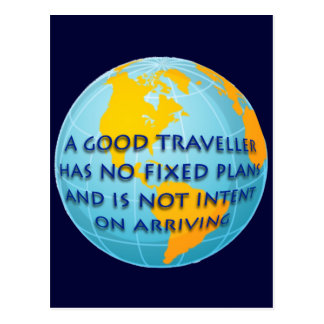 Good Traveller Postcard