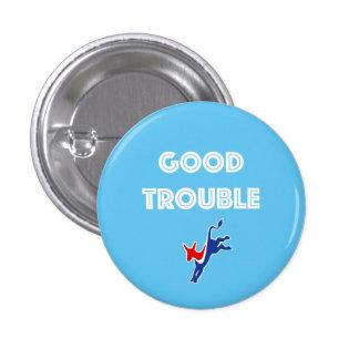 Good Trouble Donkey Round 3 Cm Round Badge